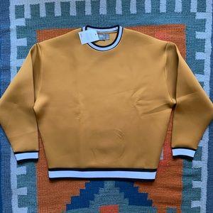 ASOS Neoprene Crew Neck Sweatshirt